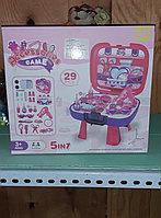 Игровой набор с косметикой для девочек. Трюмо. 5в1, фото 1