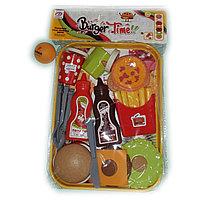 Игрушка кухонный набор посуды с едой