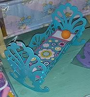 Игрушечная кроватка для куклы. Полесье., фото 1
