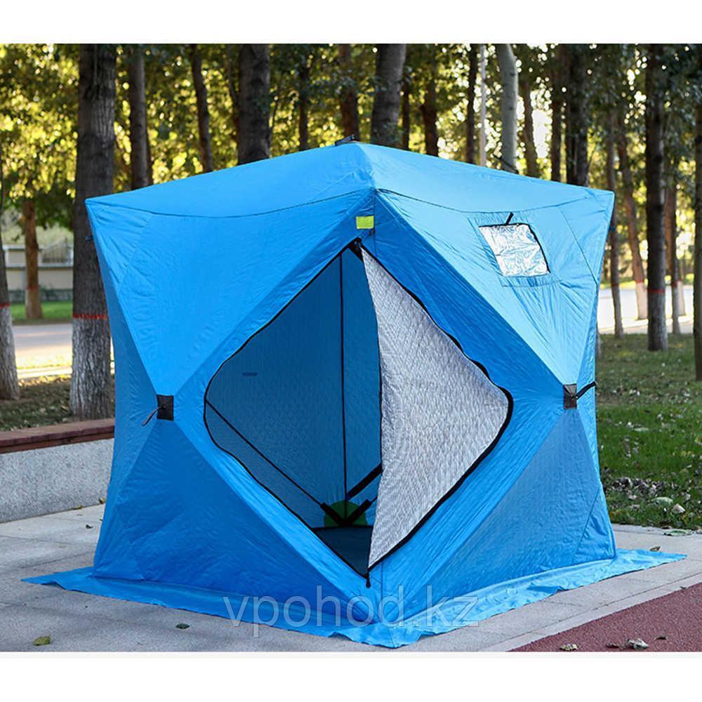 Палатка куб трехслойная на синтепоне 220X220