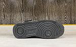 Кроссовки зимние Nike Air Force 1 Utility Mid Black (+Мех), фото 4