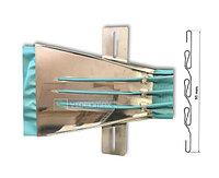 Устройство для подгибки и краев и складок для одноразовых медицинских масок
