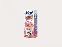 Молоко МОЁ Детское Клубника со злаками 200 мл
