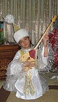 Платье для девочек в национальном стиле с казахским орнаментом