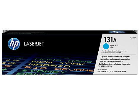 HP CF211A Картридж лазерный HP 131A голубой, ресурс 1800 стр