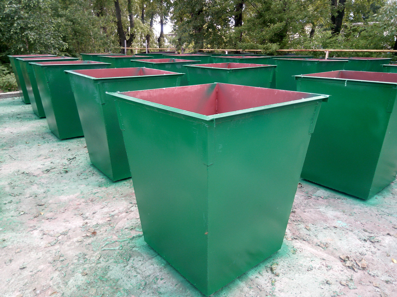 Контейнер ТБО 0.75 м3