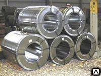Рулон оцинкованный 42401 мм х1250 мм ст.08ПС сталь оц. в рулона ГОСТ 14918-80