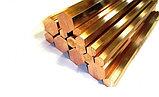 Шестигранник (пруток) латунный D70 мм. ЛС59-1 Л63, фото 2