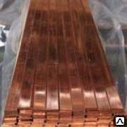 Шина (полоса) медная 3х30 мм. М1М М1Т