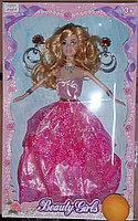 Кукла в красивом, бальном платье