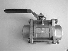 "Кран шаровой 2 части РB/РB GAS 1 1/4"" AISI304 нержавеющий шт"