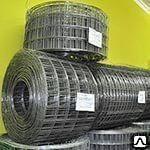 Сетка кладочная в рулоне D=4мм дорожная стальная ЯЧ.100х100мм ВР-1 H2000мм
