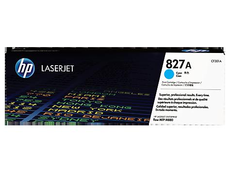 HP CF301A Картридж лазерный HP 827A голубой, ресурс 32000 стр.