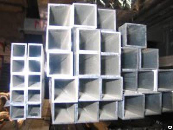 Труба алюминиевая профильная 15х15 20х20 30х20 30х20 40х40 50х40 50х50 60х6