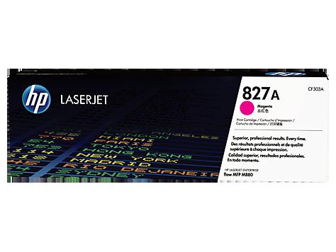 HP CF303A Картридж лазерный HP 827A пурпурный, ресурс 32000 стр