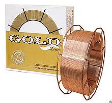 Сварочная проволока 42401 мм GOLD G3Si1 (аналог СВ08Г2С/СВ08ГС)