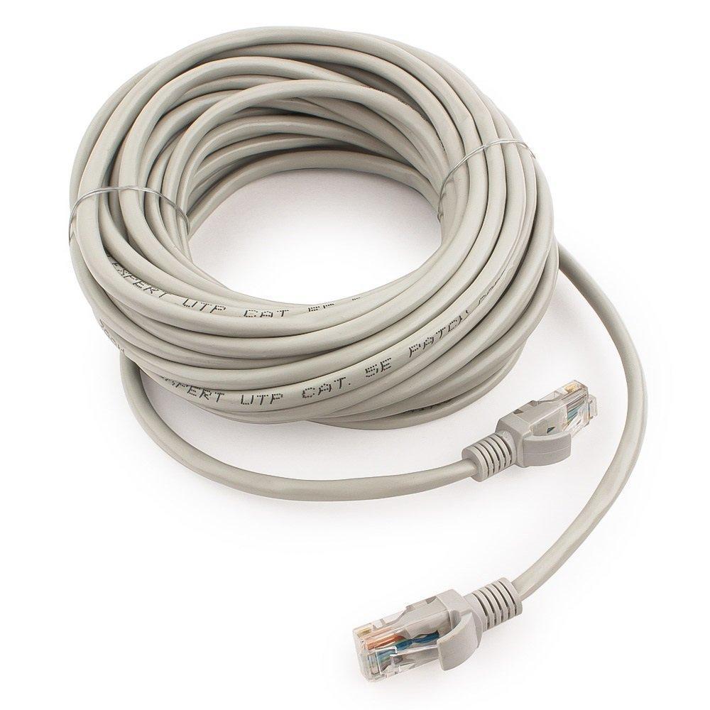 Патч-корд медный UTP Cablexpert PP10-10M кат.5e, 10м, литой, многожильный (серый)