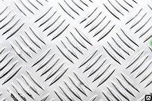 Лист квинтет рифлёный алюминий 42491 мм