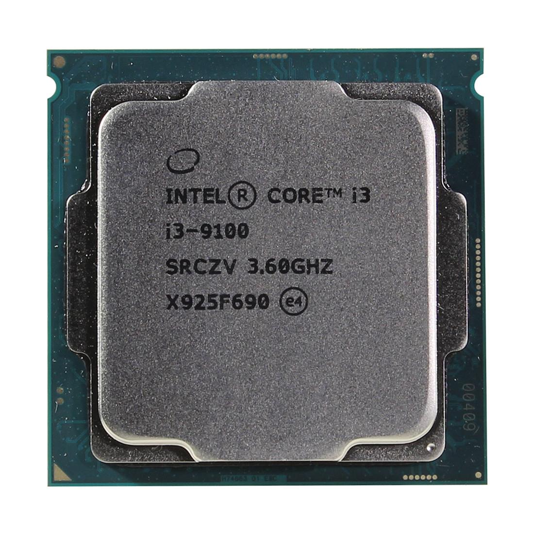 Процессор Intel 1151v2 i3-9100