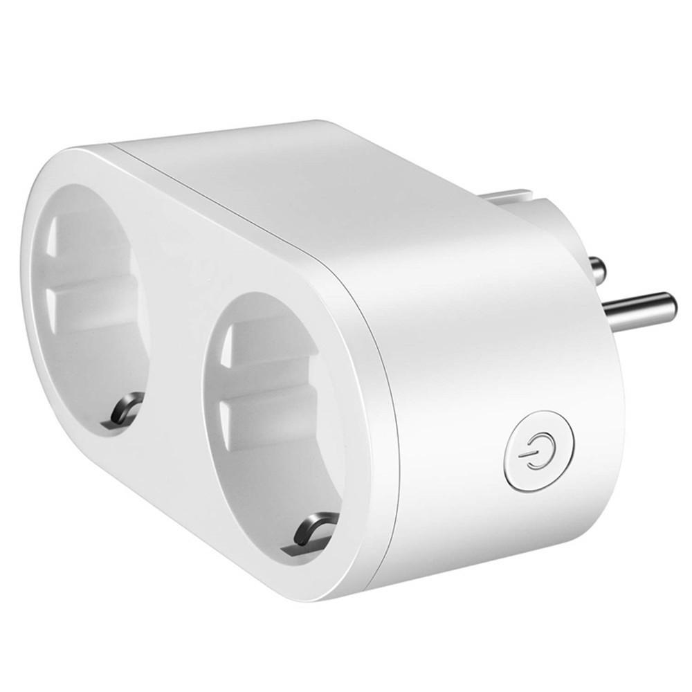 Умная двойная розетка Elari Dual Smart Socket белый