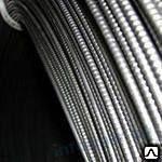 Проволока ВР-2 D=5мм стальная рифленая высокопрочная в бухтахГОСТ 7348-81