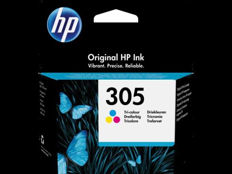 Картридж струйный HP 305 Tri-color Original Ink Cartridge, ресурс 100 стр для DeskJet 2320, 2710, 2720,