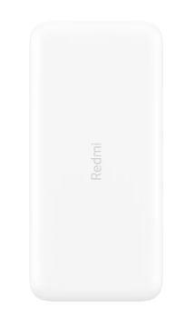 Зарядное устройство Power bank Xiaomi Redmi 20000 mAh 18W белый