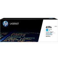 Картридж голубой HP 659A (W2011A) для принтеров и МФУ HP Color LaserJet Enterprise M776, M856, голубой
