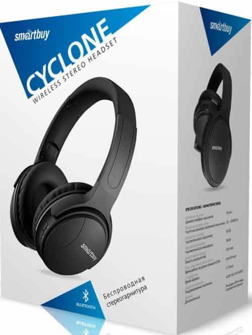 Полноразмерная Bluetooth-гарнитура Smartbuy CYCLONE