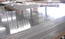 Лист стальной AISI 304 х/к зеркальный в бумаге 1х1250х2500 2й сорт нерж.