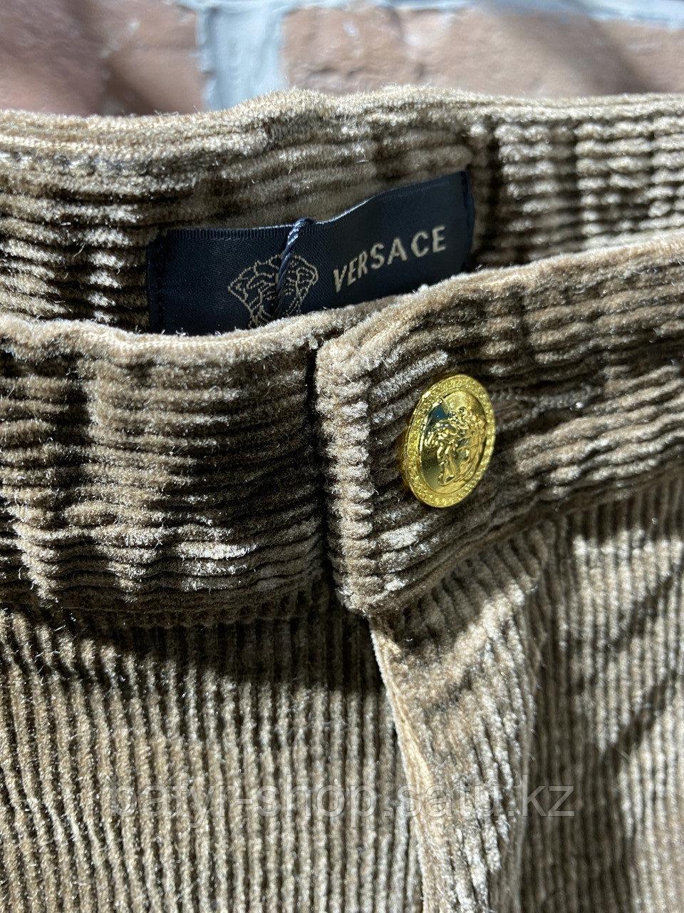 Джинсы вельветовые Versace (0292) - фото 4