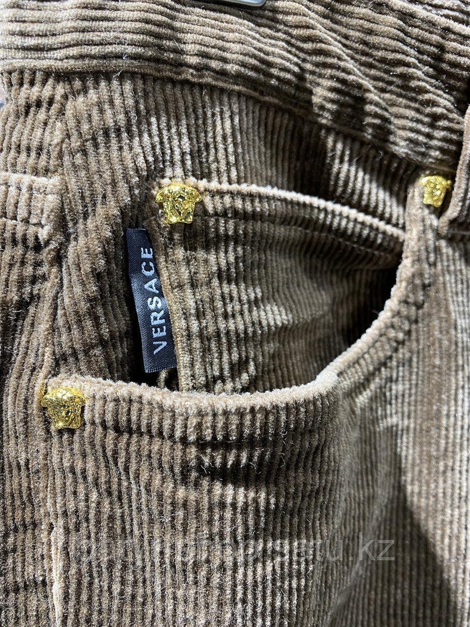 Джинсы вельветовые Versace (0292) - фото 5