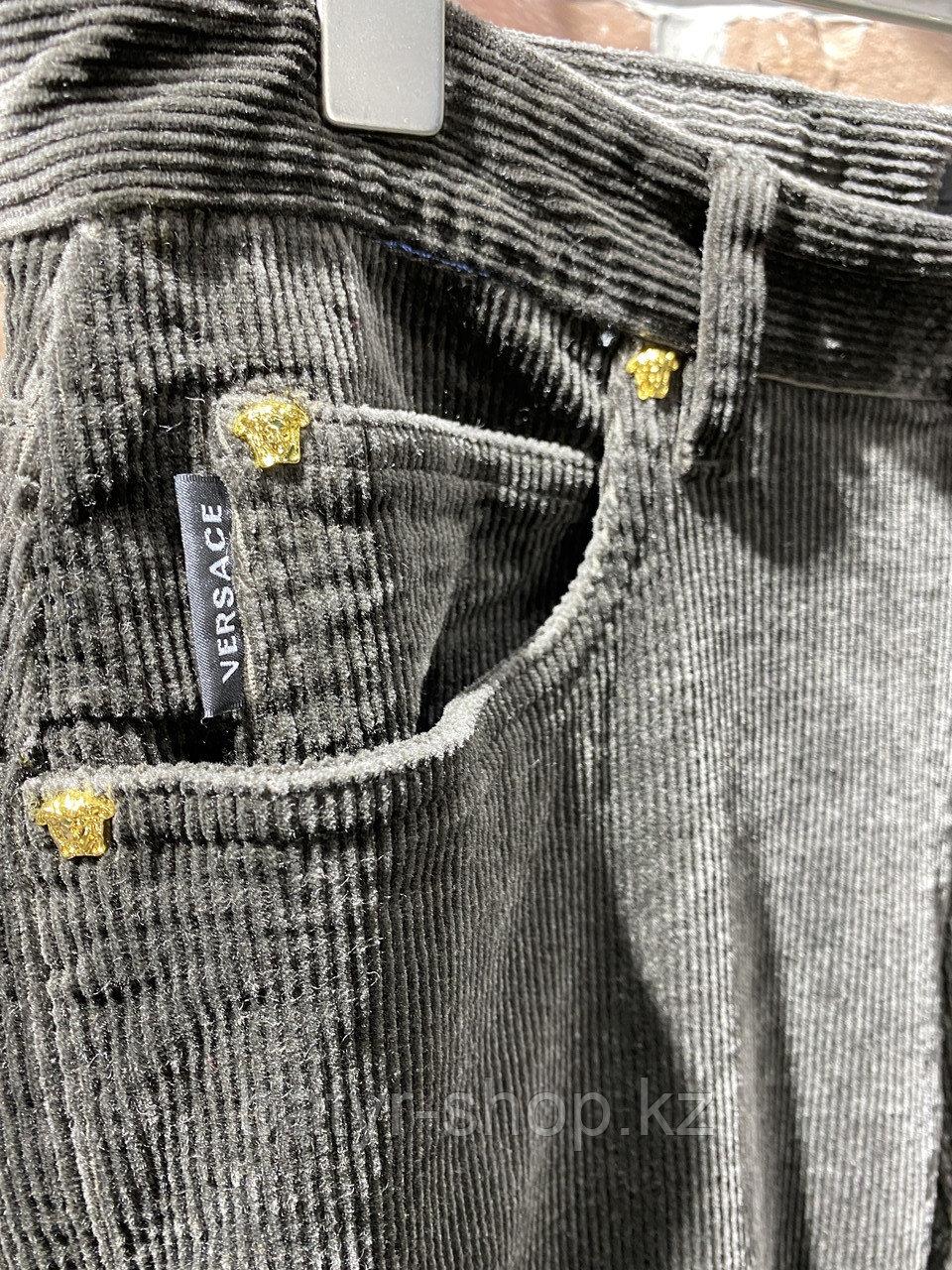 Джинсы вельветовые Versace (0293) - фото 4