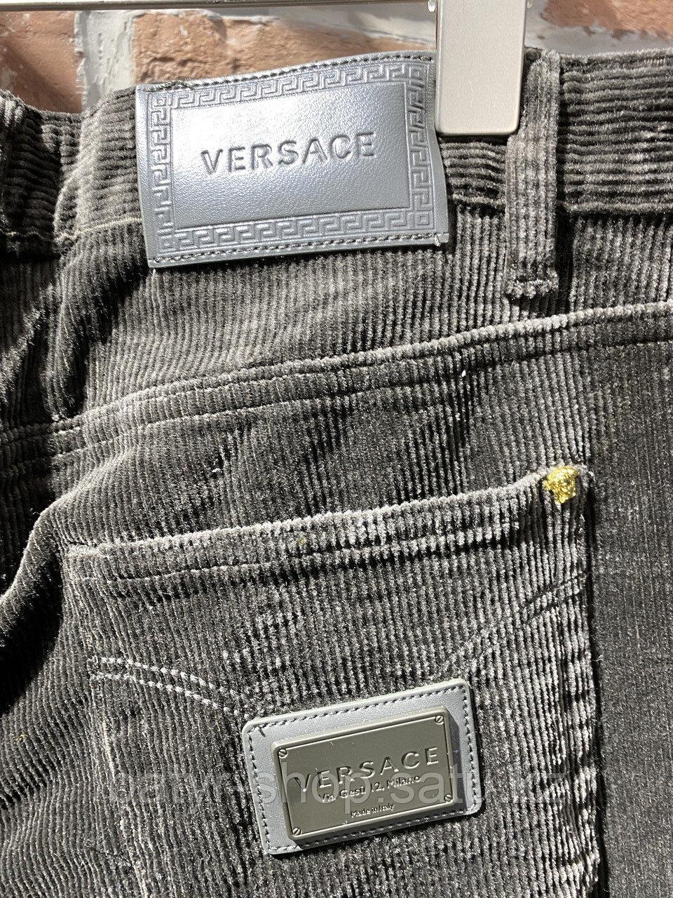 Джинсы вельветовые Versace (0293) - фото 5