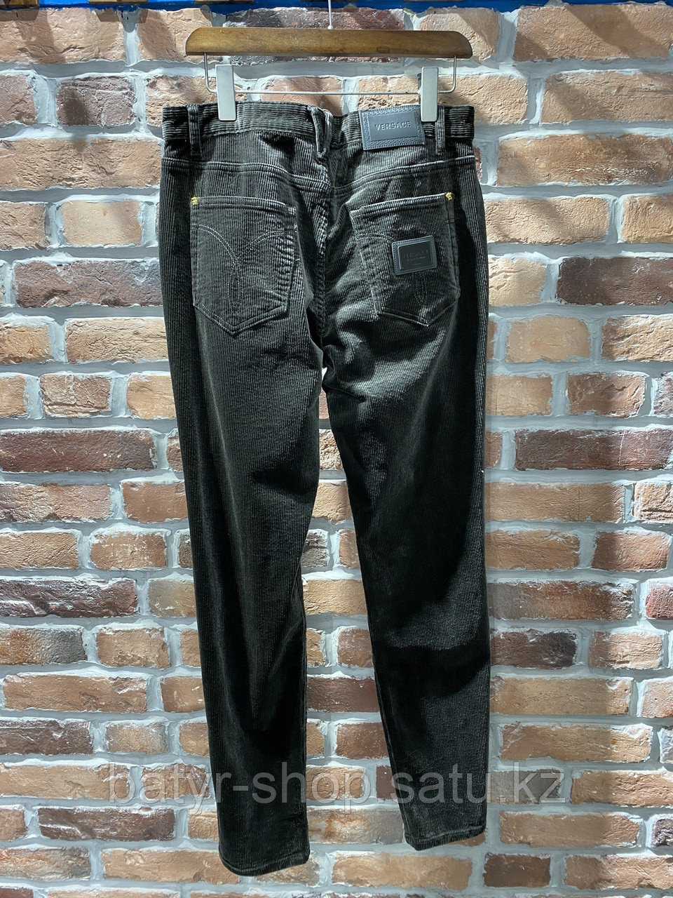 Джинсы вельветовые Versace (0293) - фото 2