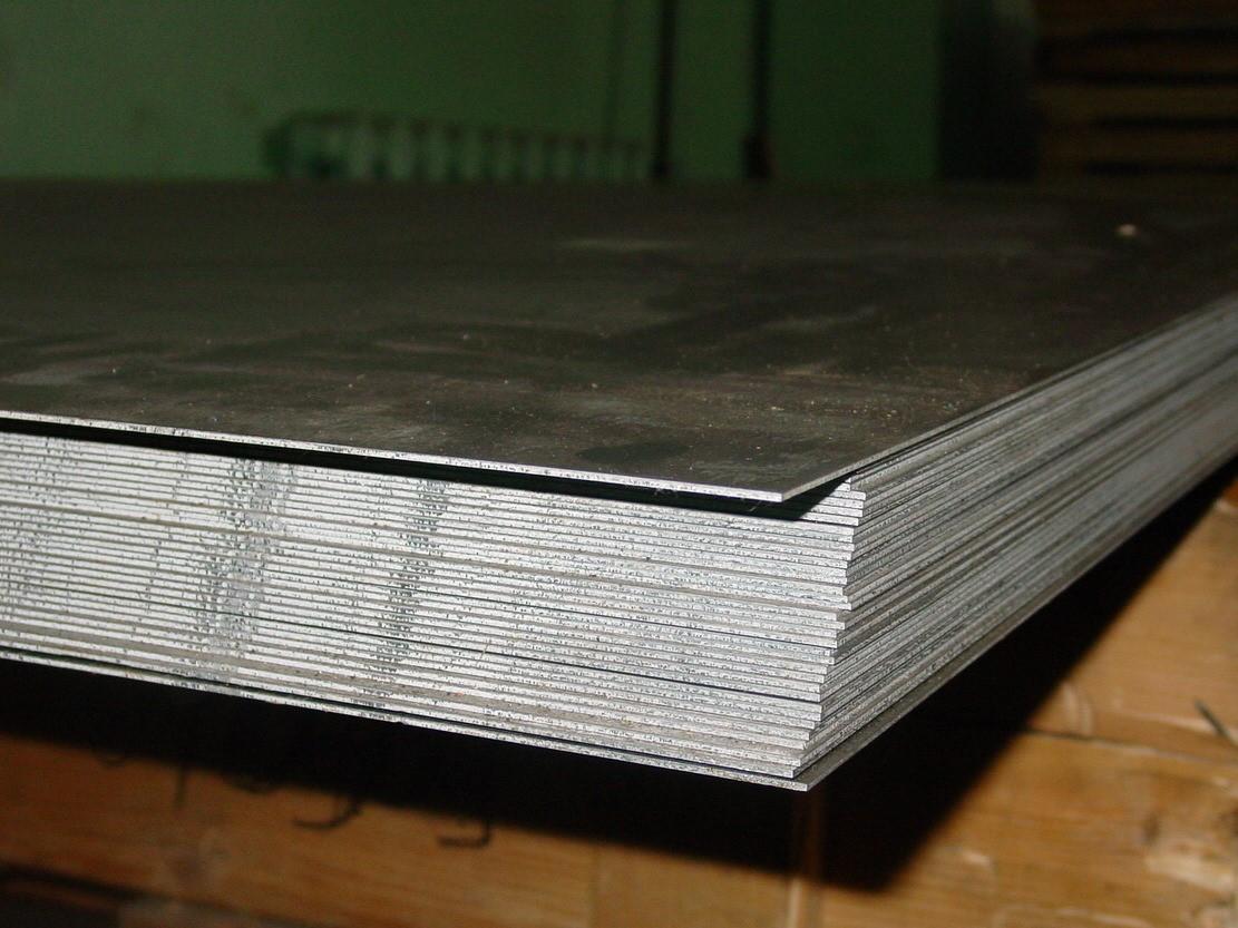 Лист низколегированный 20x1500x6000 мм 09Г2С-15 ГОСТ 19281-89