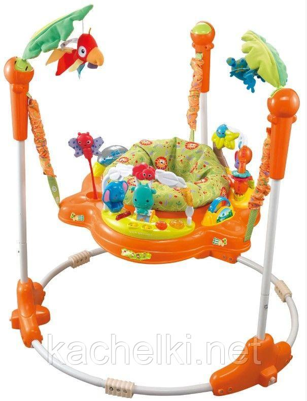 Konig Kids: Развивающий центр прыгунки с игрушками Джунгли