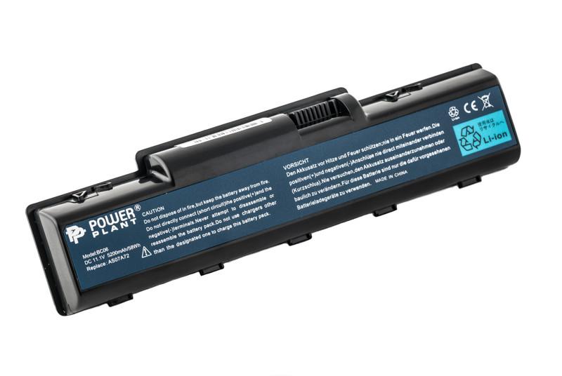 Аккумулятор PowerPlant для ноутбуков ACER Aspire 4710 (AS07A41, AC43103S2P) 11.1V 5200mAh