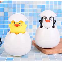 Игрушка для купания Пингвин и Цыплёнок в яйце