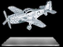 Металлический 3D конструктор Metalworks самолёт Мустанг P-51