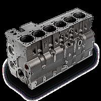 Блок цилиндров на Hyundai R220LC, 3928797, 3935936.