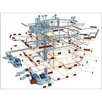 Монтаж внутренних и наружных инженерных сетей ОВ и ОК