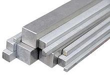 Квадрат алюминиевый 25 АМЦ