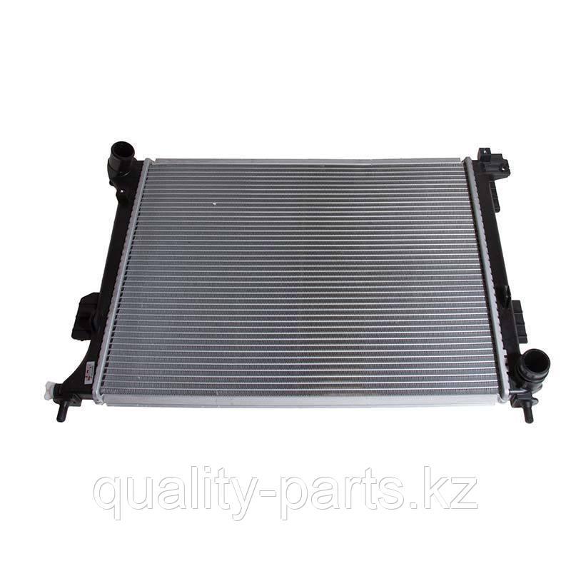 Радиатор на Hyundai R520LC, QSM11, 11QB-41020, 11QB-41030.