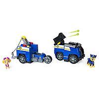 Щенячий патруль Машинка-трансформер с Гонщиком и Скай Paw Patrol, фото 1