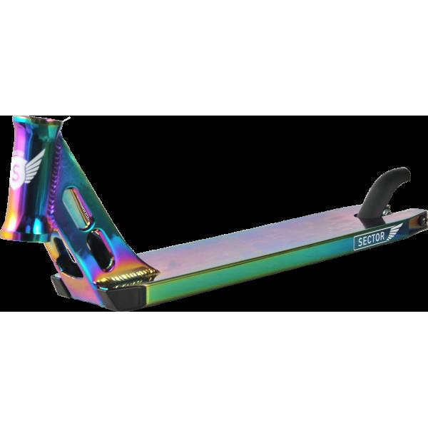 Дека на трюковой самокат Longway Sector Neochrome