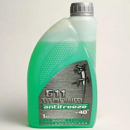 Антифриз Titanium G11 -40С зеленый 1 кг