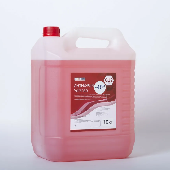 Антифриз Titanium G12-40 красный 10 кг
