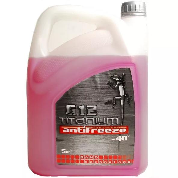Антифриз Titanium G12-40 красный 5 кг