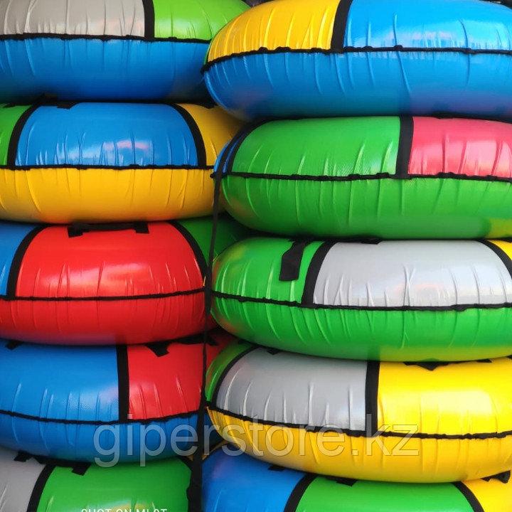 Надувные зимние санки - ватрушки, тюбинг, зимние балоны для катания разных размеров